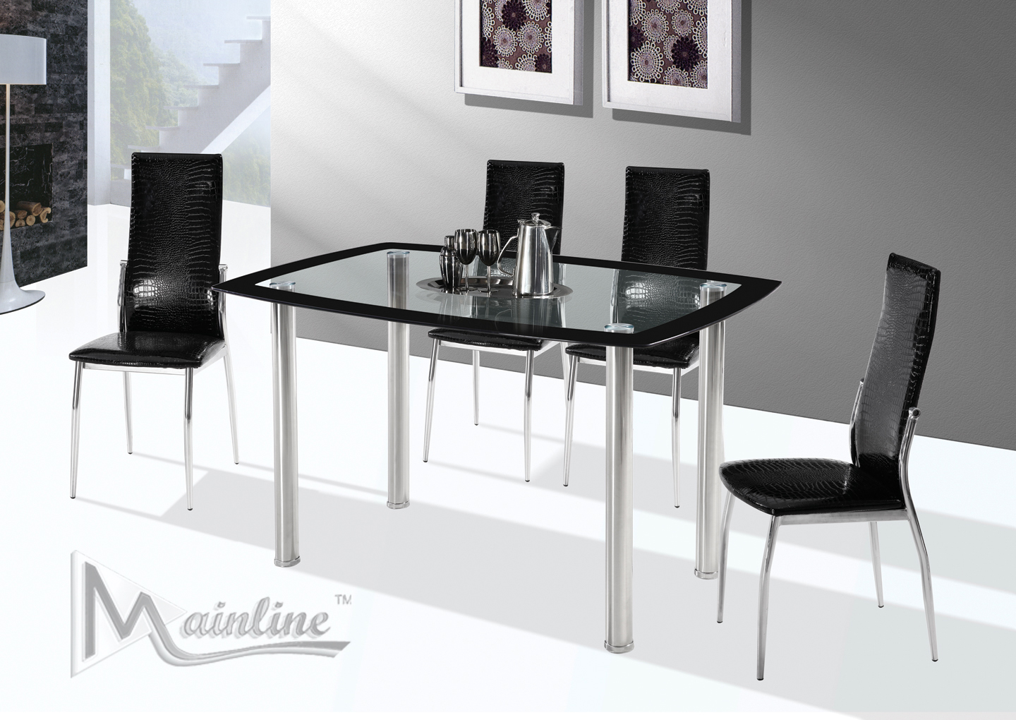 Executive Style Dinette Set for 4
