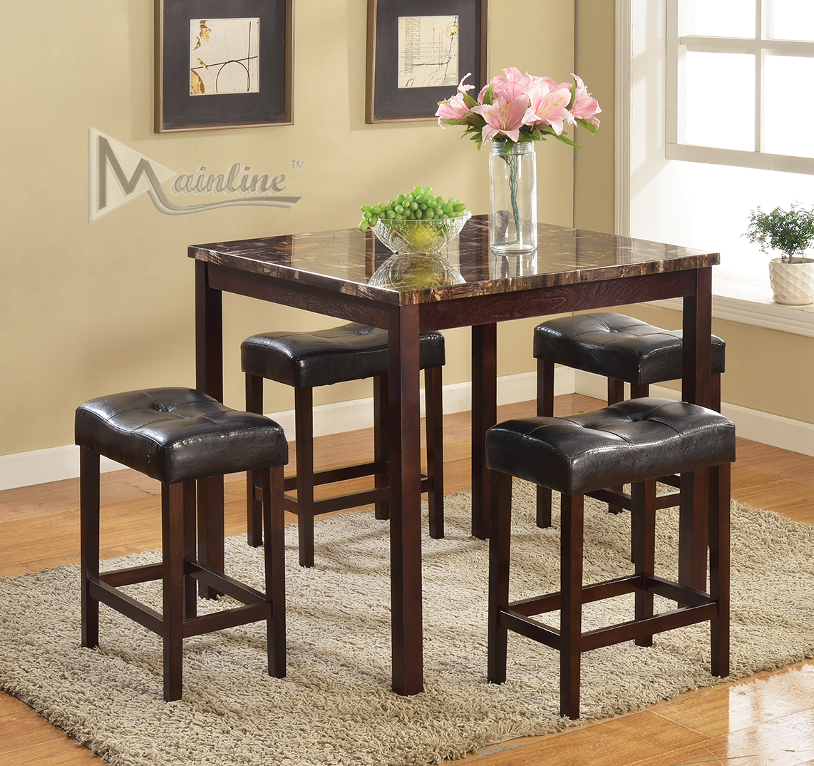 Stool and Table Discount Dinette Set